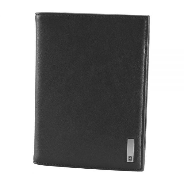 Мъжки портфейл Victorinox - Altius 3.0 Oslo, естествена кожа, черен