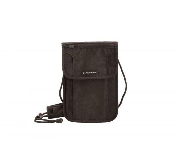 Чанта Victorinox - Security Pouch, за документи, с RFID защита, черна