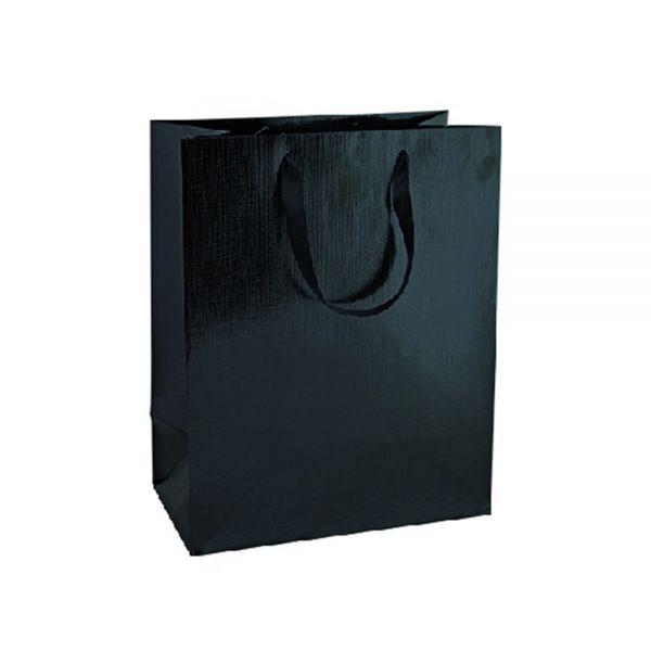 Подаръчно пликче Unicart - Fashion Bag, черно, 46x33x14 см
