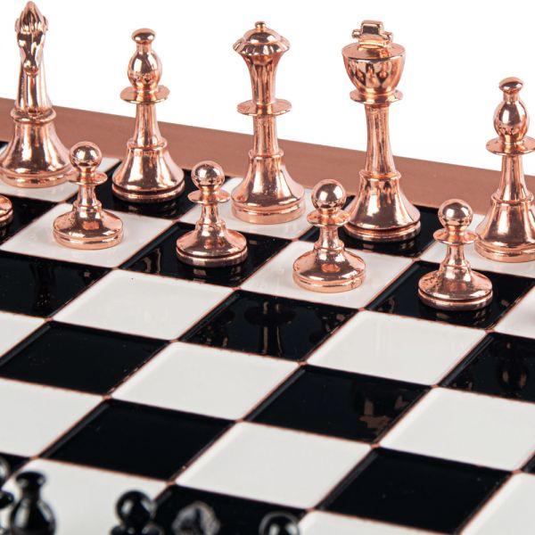 Луксозен шах Manopoulos - Staunton, 36x36 см