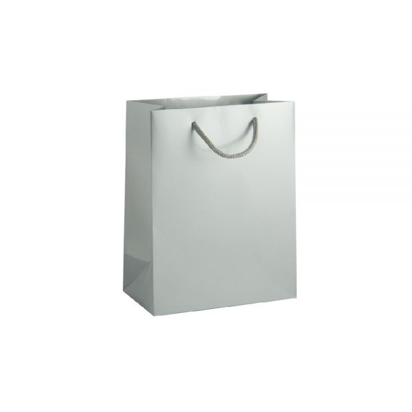 Луксозен подаръчен плик сребрист